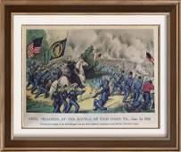 Civil War: General Meagher At The Battle Of Fair Oaks