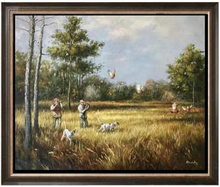 Friend's Hunting Trip Original Painting