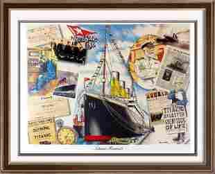 Titanic Fine Art Poster Rare Only $40 / $150 Value