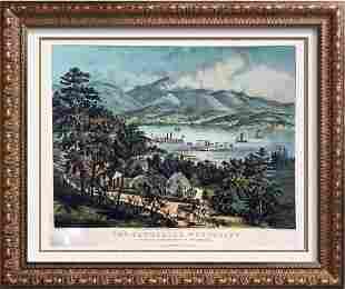 Roy King c.1987 The Catskill Mountains Washington