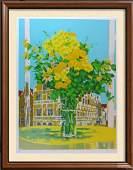 Still Life Floral Vase Large Ltd Ed Signed Serigraph