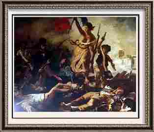 Masterpieces Delacroix: Liberty Leading the People