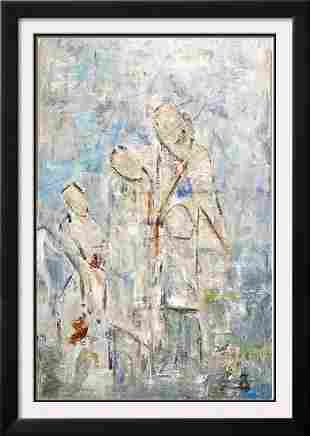 Large Modern Figurative Abstract Swahn Painting