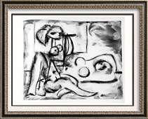 Pablo Picasso 'After'  Seated Woman and Sleeping Woman
