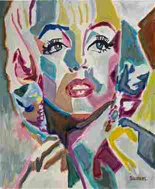 Janet Swahn Marilyn Monroe Homage to Warhol