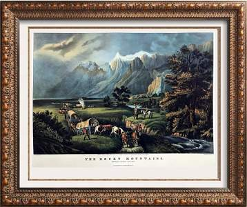 Roy King c.1987 The Rocky Mountains Wagons West In The