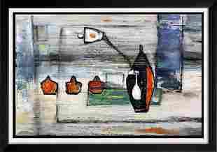Abstract Janet Swahn Textured Original Canvas