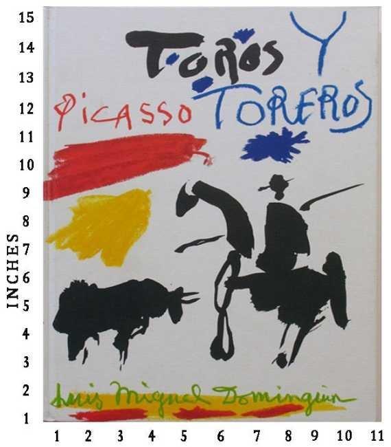 DEALER ART BOOK PABLO PICASSO - Toros Y Toreros