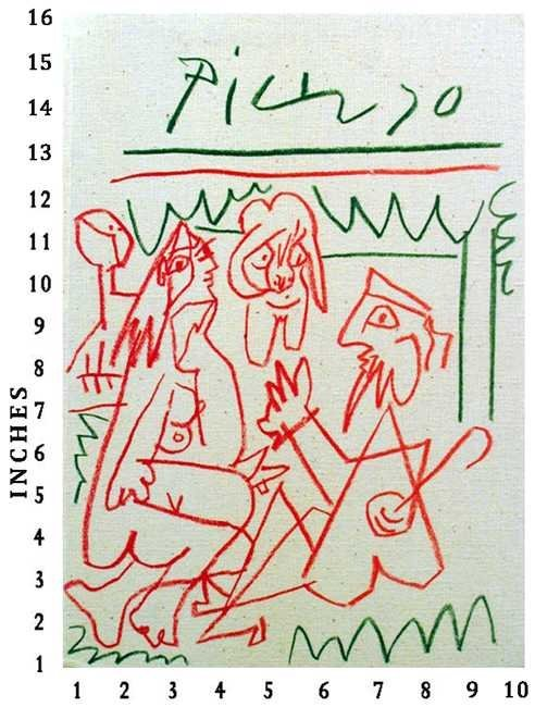 DEALER ART BOOK PABLO PICASSO Les Dejeuners c.1963