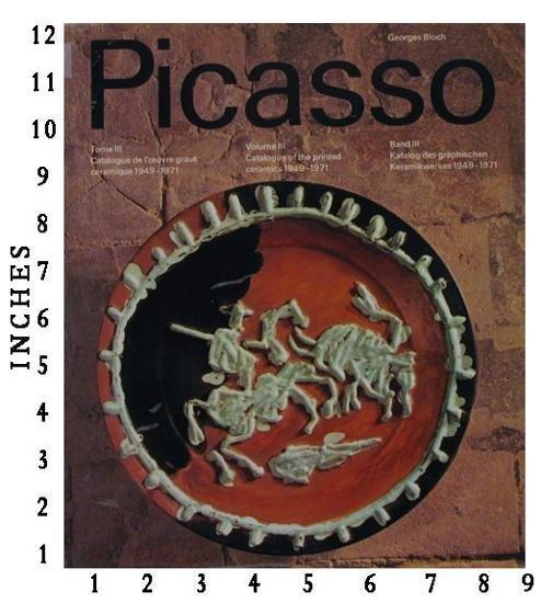DEALER ART BOOK PABLO PICASSO 4 Volume Set c.1972 4 Vol