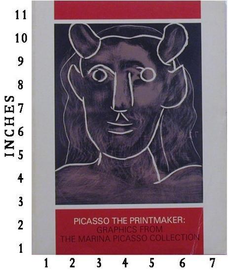 DEALER ART BOOK PABLO PICASSO - The Printmaker c.1983