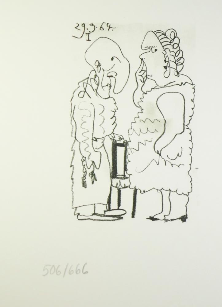 PICASSO COUPLE RARE ART SALE LIMITED EDITION