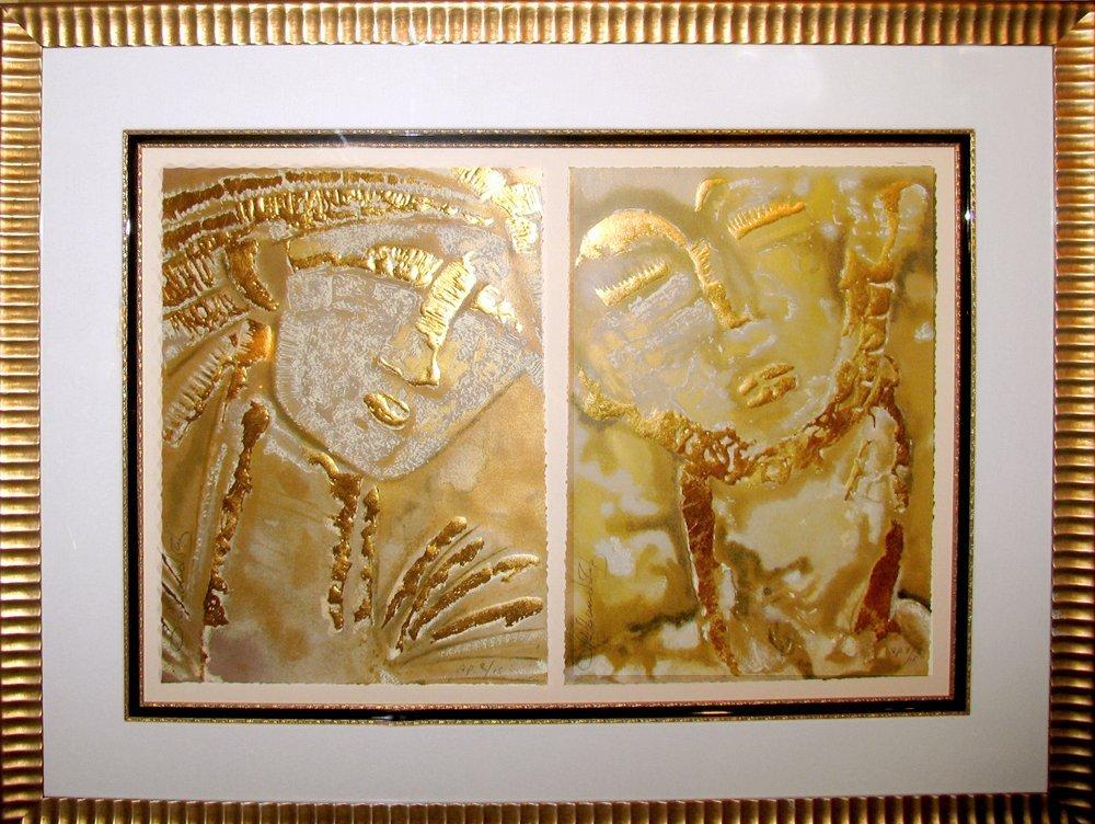 Orlando Ab Classical Expressions 2 Piece Framed Museum