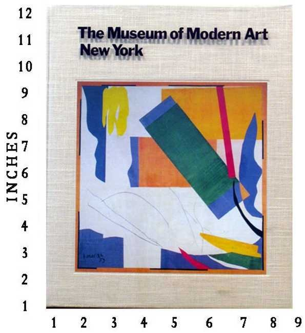 The Museum Of Modern Art, New York Art Book Jacket