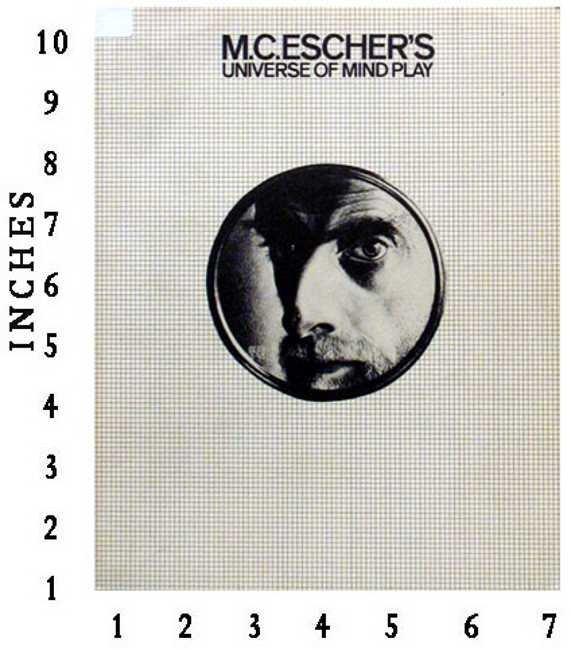 MC Escher - Universe Of Mind Play 1983 Japan  Excellent