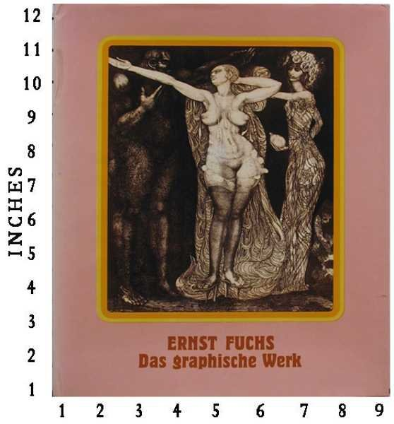 Ernst Fuchs Signed Art Book Jacket Lithographs Slip