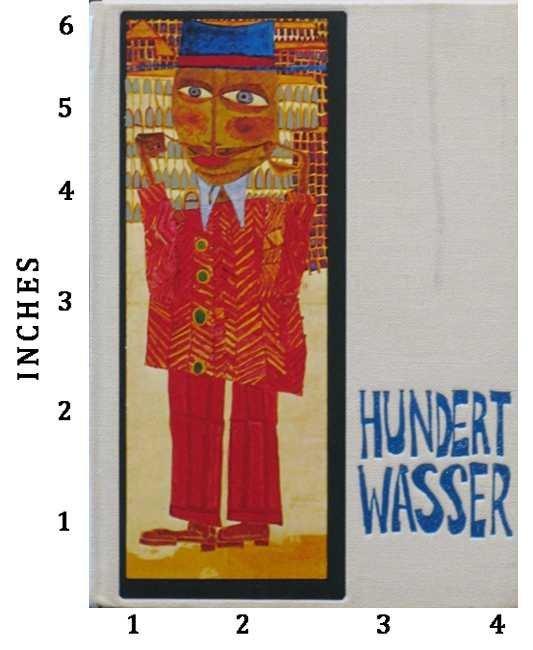 Friedensreich Hundertwasser 10 Oct 1973 Aberbach 1973