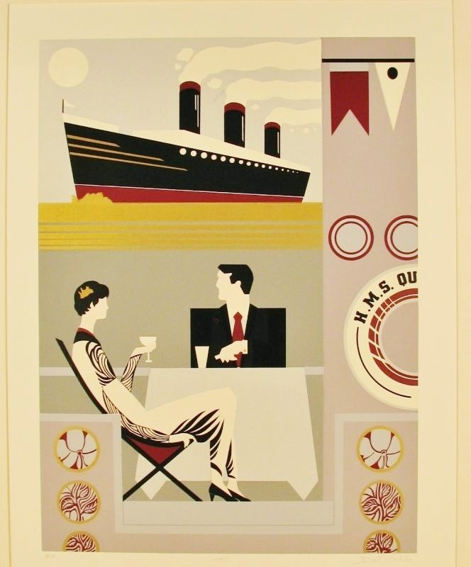 Limited Edition Art Deco Serigraph Only $20 Below