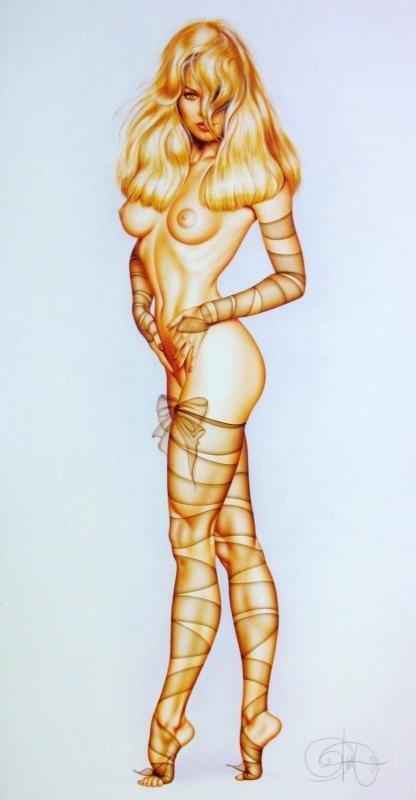 Pamela Anderson Nude Nylon Jungle Olivia Signed Ltd Ed