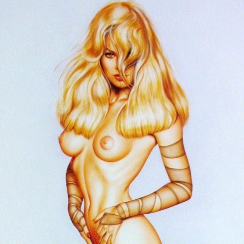 Pamela Anderson Nude Nylon Jungle Olivia Signed Ltd Ed - 2