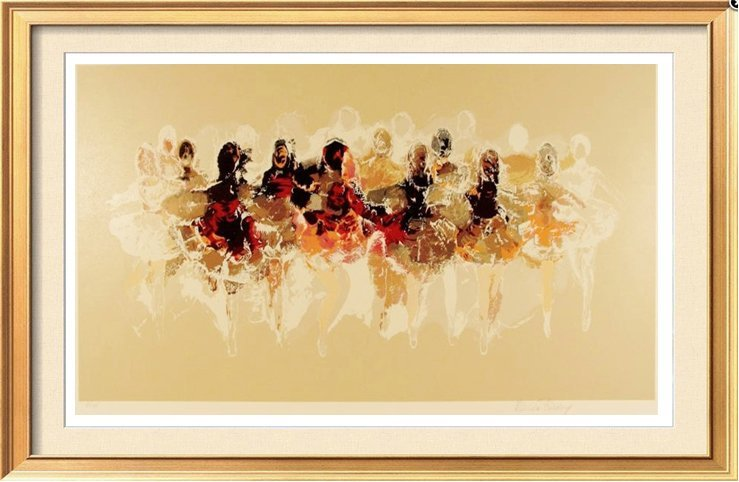 BALLERINA LITHOGRAPH SIGNED LIMITED EDITION