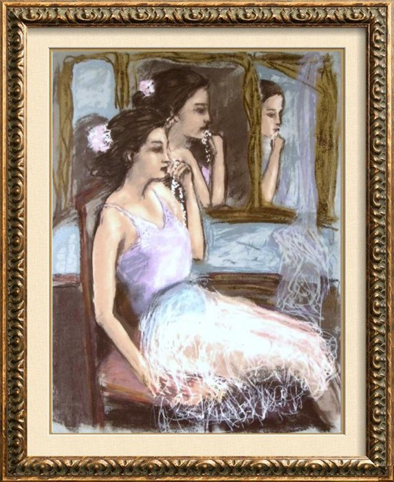 KENA BALLERINA SIGNED LIMITED ED BEAUTIFUL PORTRAIT