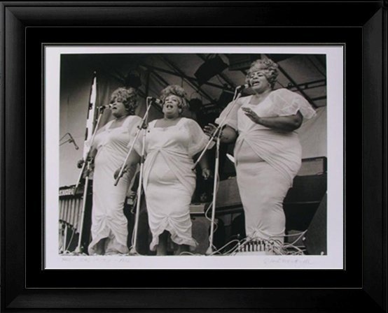 ROCK & ROLL THREE TONS OF JOY 1972 SIGNED PHOTO Rare