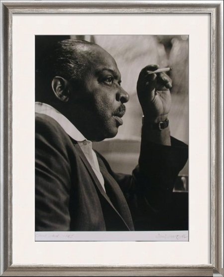 COUNT BASSIE C.1965 ORIGINAL PHOTO SIGNED Rare DEALER
