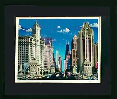 313: Chicago Skyline by Chen Limited Edition Wholesale