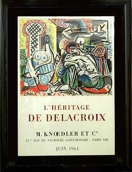 379: Picasso Rare Original Lithograph 1964