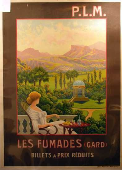 489: Original Lithographic Poster Travel by Marseille