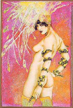 3164: Nude Olivia Art Signed Limited Edition Liquidatio
