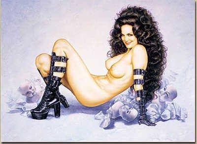 3168: Olivia Nude Art Signed Limited Edition Wholesale