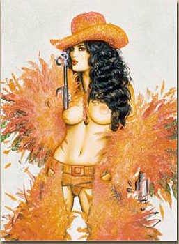 3171: Olivia & Julie Strain Signed Nude Limited Edition