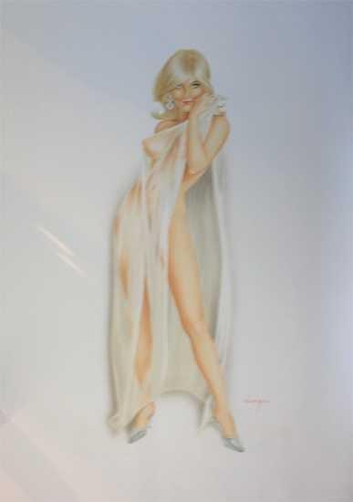 4685: Artist: Alberto Vargas Title of Art: Untitled Med