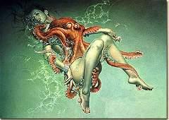 5720: Octapus by Hijime Sorayama Nude Limited Edition