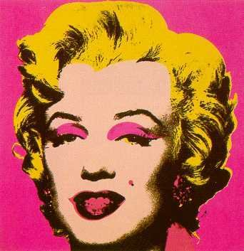 005: Marilyn Monroe Silkscreen by Andy Warhol $100