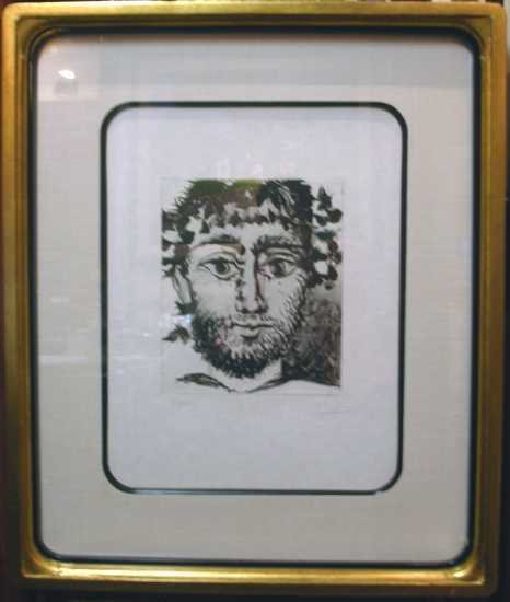 008: Pablo Picasso Rare Limited Edition on Paper Framed