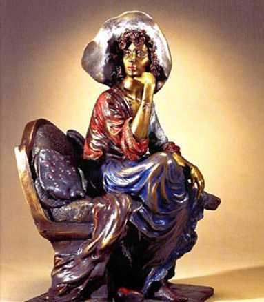 010E: Isaac Maimon Bronze Ltd Ed Sculpture Liquidation