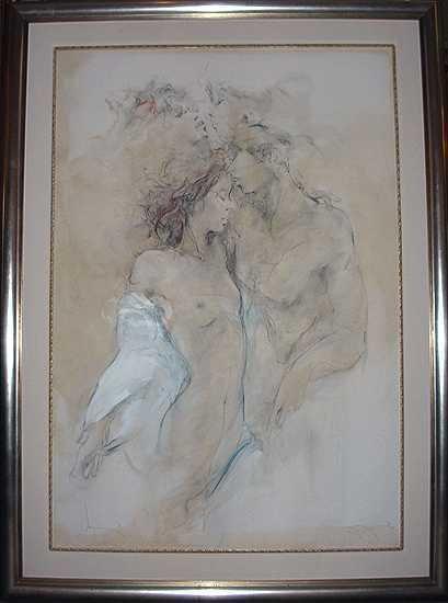 211E: Master Jurgen Gorg Painting on Canvas