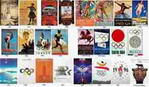 10000 Olympic Portfolio 24 Official Set 18961996