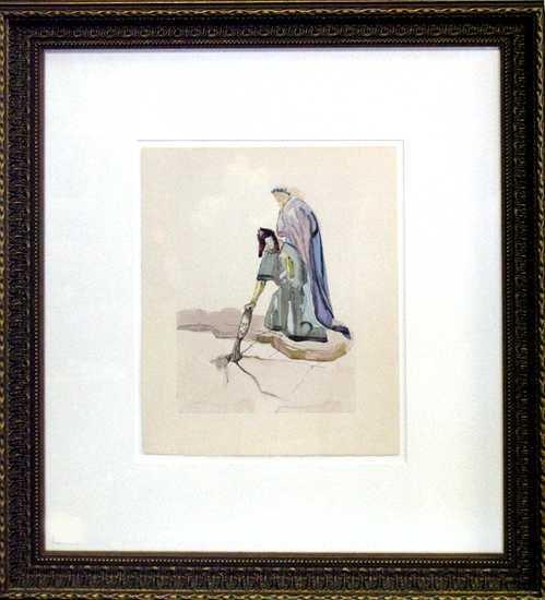 498: Salvador Dali Inferno Museum Framed Art Sale