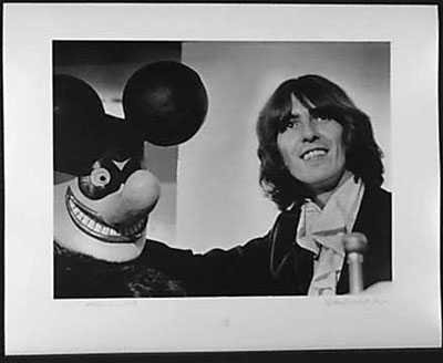050975: RARE Beatles George Harrison Original Photograp