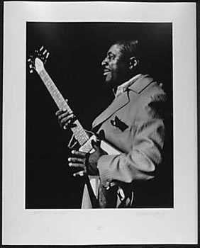 050993: Albert King 1969 Signed Original Photograph