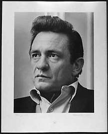 051029: Johnny Cash Original 1968 Vintage Photograph