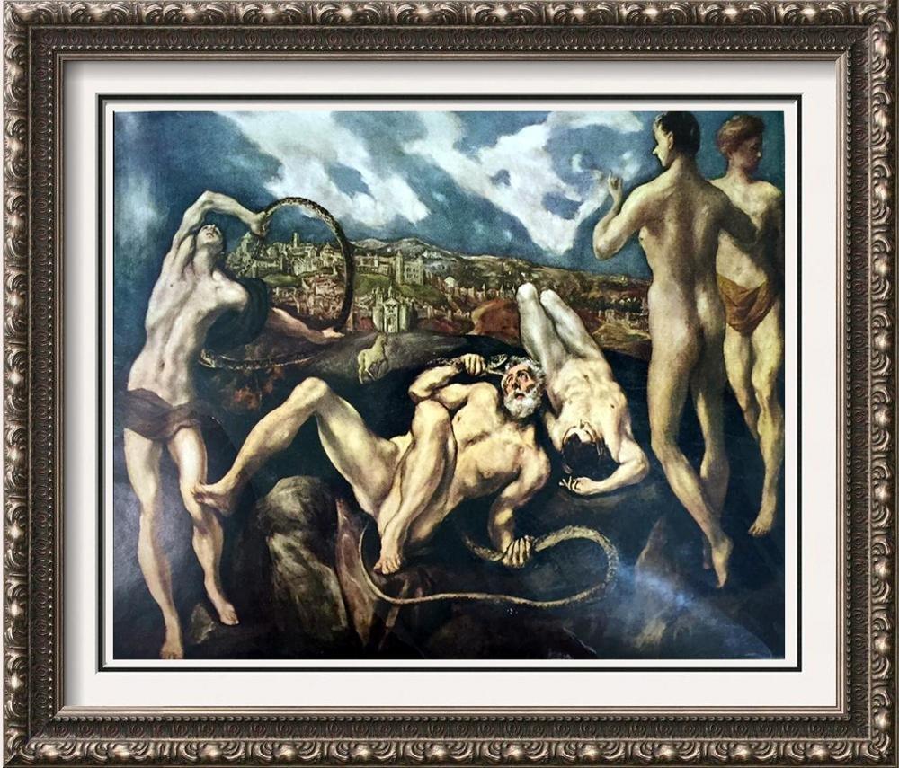 El Greco (Domenicos Theotocopolos) Laocoon c.1604-14
