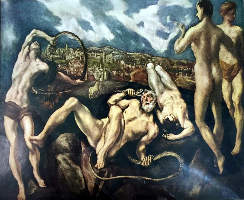 El Greco (Domenicos Theotocopolos) Laocoon c.1604-14 - 2