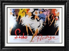 Old Lido Colorful Dance Poster Classic Only $10