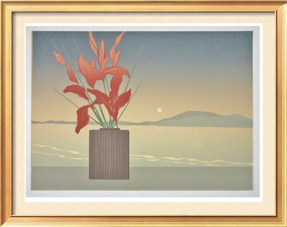 Floral In Vase Lee White Ltd Ed Signed Only $70 Large