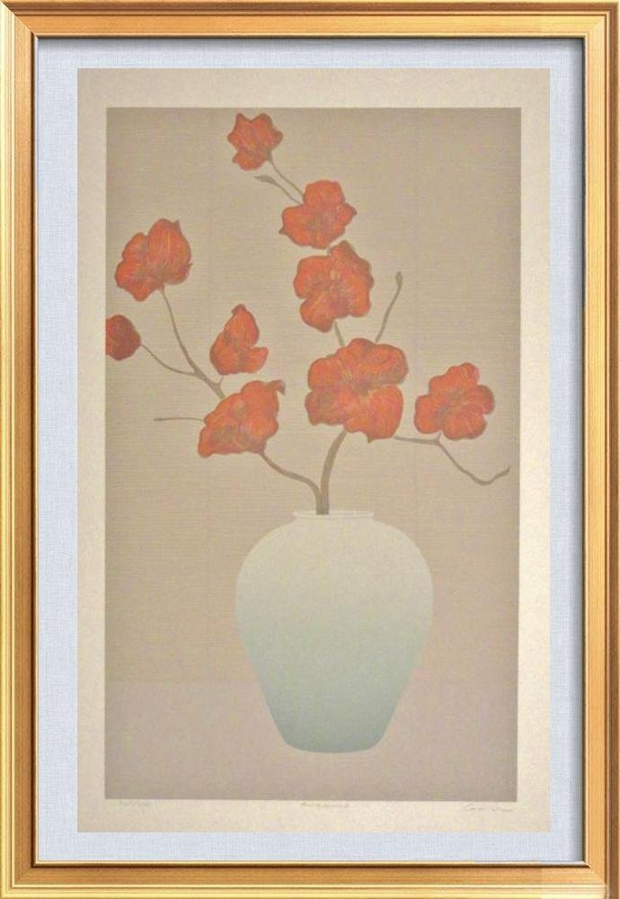 Vase With Flower Serigraph Limited Edition Sale